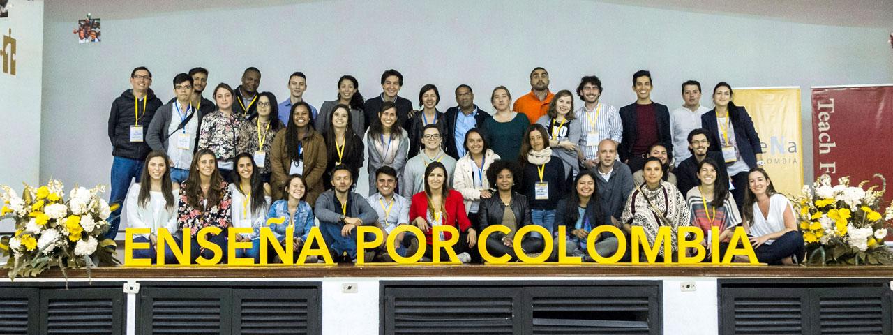 Nuestra historia y valores en enseña por colombia